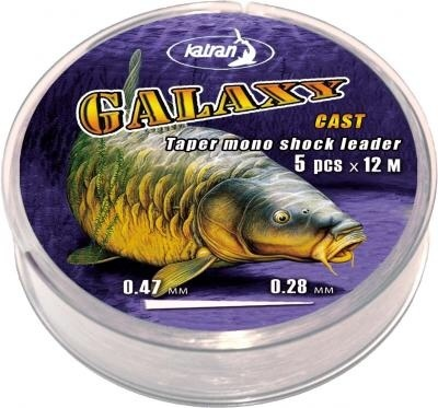 GALAXY cast 5pcsx12m colour virtually invisible