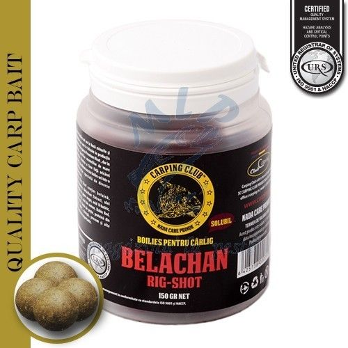 CARPPING CLUB RIG-SHOT BOILIES SOLUBLE BELANCHAN 20MM 150GR
