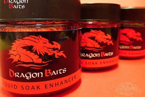 DRAGON BAITS LIQUID SOAK BLACK PEARL 100ML