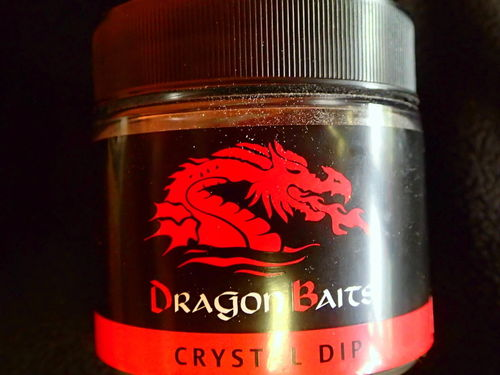 DRAGON BAITS CRISTAL DIP PINK FLUO GAMMARUS 100GR