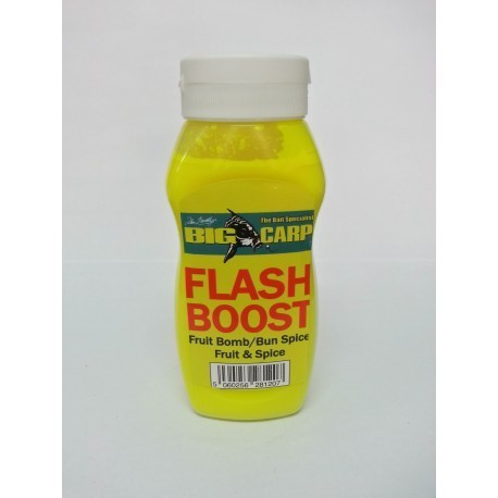 BIG CARP FLASH BOOST FRUIT BOMB - FRUIT&SPICE 175ML