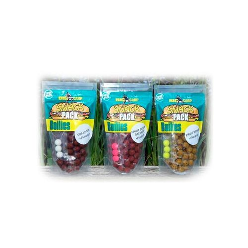 BIG CARP BOILIES FRUIT BOMB & POP-UP(3) 16MM 250GR