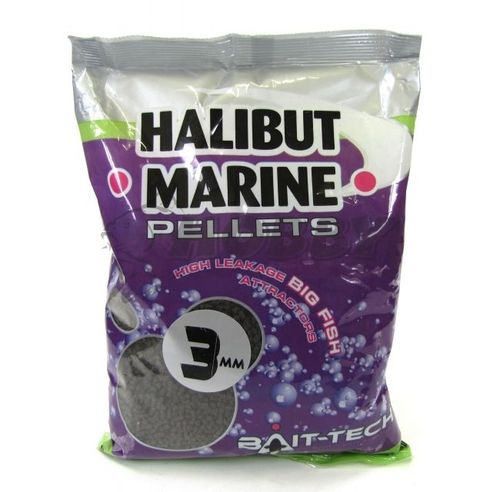 BAIT-TECH PELLETS HALIBUT 3MM 900GR