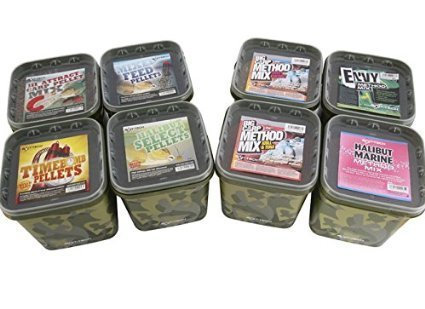 BAIT-TECH METHOD MIX KRILL&TUNA CUBO 3KG