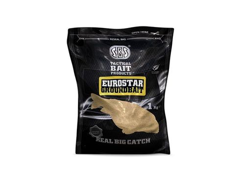 SBS EUROSTAR GROUND BAITS SQUID&OCTOPUS 1KG