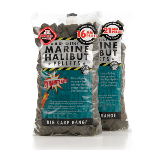 DYNAMITE PELLETS MARINE HALIBUT 21MM 900GR