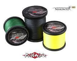 MIKADO FINE BRAID NIHONTO TRENZADO 0.40MM 34.90KG 300MT BROWN