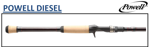 POWELL DIESEL 723MH EX-FAST 7'20'' ACTION 12-25LB (CASTING)