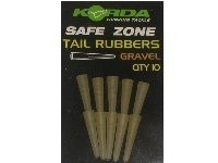 KORDA SAFE ZONE TAIL RUBBERS GRAVEL QTY10