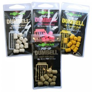 KORDA POP-UP DUMBELL FISHY FISH 8MM QTY10