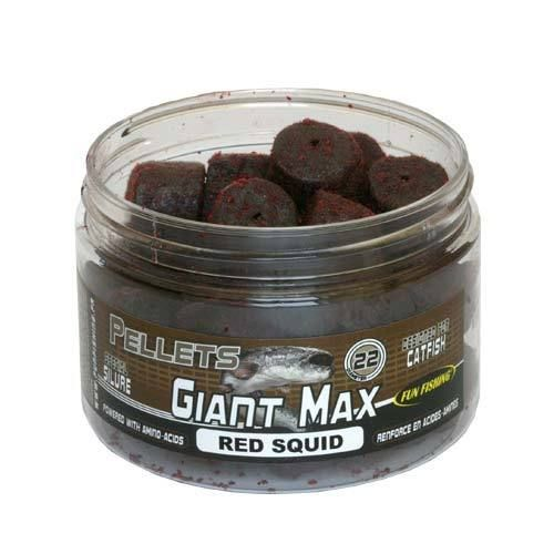 FUNFISHING BOTE GIANT MAX RED SQUID 22MM 300GR