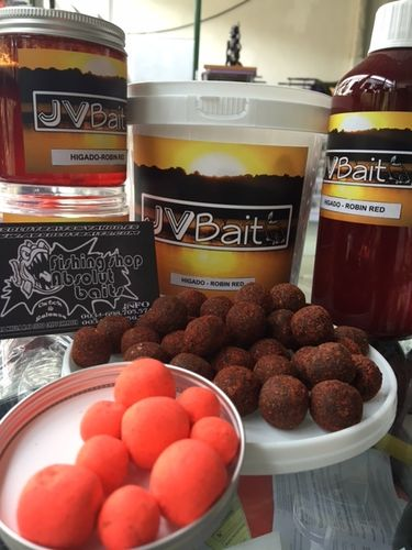 JVBAITS POP-UP HIGADO-ROBIN RED