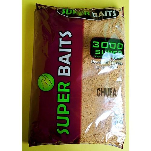 SUPERBAITS 3000 COMPETITION CHUFA 2KG  (FISH MEAL-CRUSHED SEED-MICROPELLET-HIGH PROTEIN-OIL)
