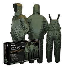 NGT ALL WEATHER FISHING SUIT 2PCS SIZE XL