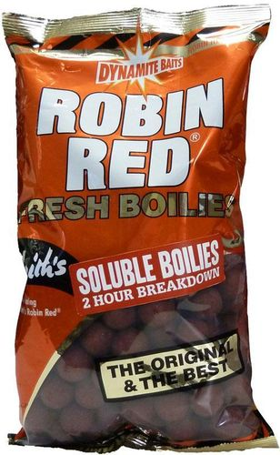 DYNAMITE BOILIES SOLUBLE ROBIN RED 18MM 1KG