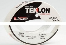 GRAUVELL SHOCK LEADER 0.40MM 25LB 50MT