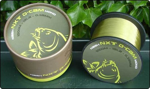 NASH NXT D-CAM MONOFILAMENT 1000MT 12LB 0.34MM
