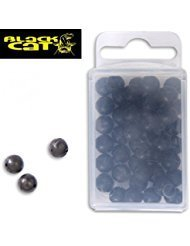 BLACK CAT HARD BEAD 8MM 50PCS