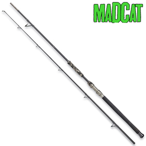 MADCAT BLACK DELUXE 3.20MT 2 SECTIONS 100-250GR