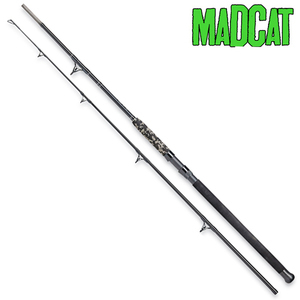 MADCAT BLACK HEAVY DUTY 3MT 2 SECTIONS 200-300GR