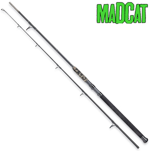 MADCAT BLACK SPIN 2.40MT 2 SECTIONS 40-150GR