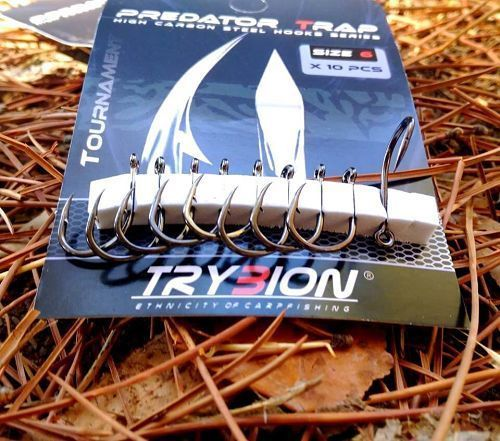 TRYBION PREDATOR TOURNAMENT HOOK N.4