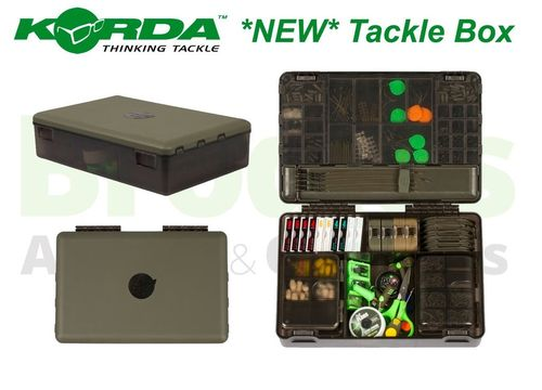 KORDA THE COMPLET TACKLE STORAGE SYSTEM