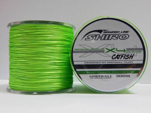 MISTRALL SHIRO JAPAN BRAID 4X 0.80MM 300MT LIGHT GREEN